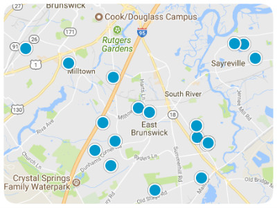 Central Jersey Real Estate Map Search
