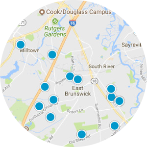 East Brunswick Real Estate Map Search