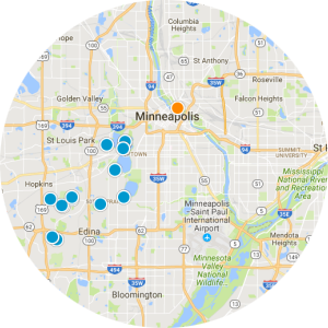 Fridley Real Estate Map Search