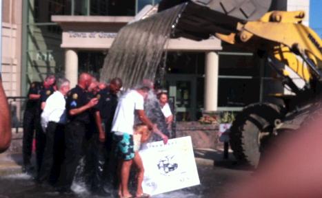 Greenwich Police ALS ice bucket