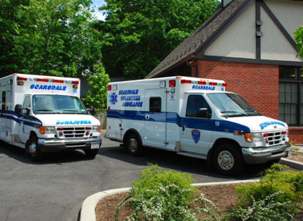Scarsdale Volunteer Ambulance Corps Offering A Nys
