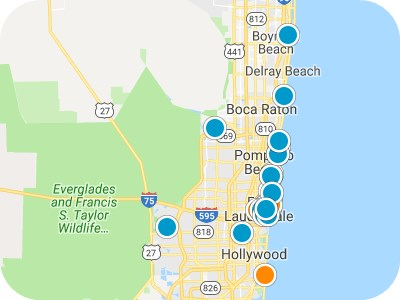 Southeast Florida Real Estate Map Search