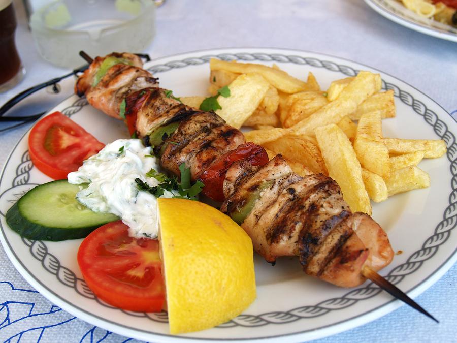 Enjoy Greek food on Port St. Lucie real estate.
