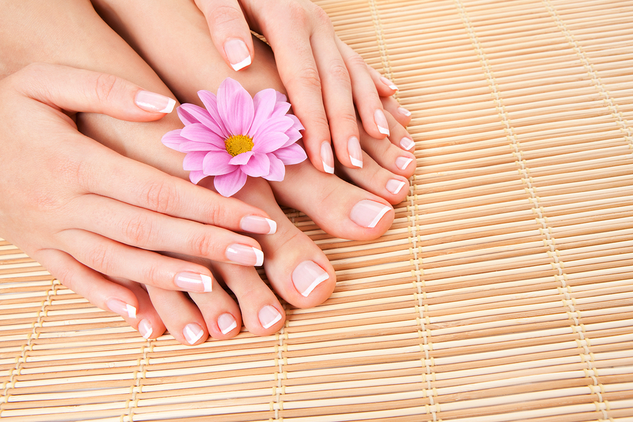 People living in Port St. Lucie get their nails done at Honeydew Nail Spa.