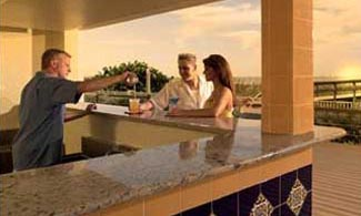 Tiki Bar - Sunset Vistas Resort condo-hotel