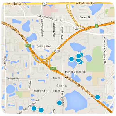 Gotha Interactive Real Estate Map Search