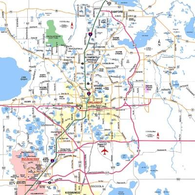 Orlando Area Interactive Real Estate Map Search