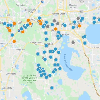 Kissimmee Interactive Real Estate Map Search