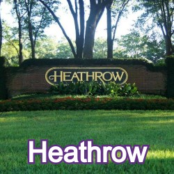 Heathrow Florida Homes for Sale