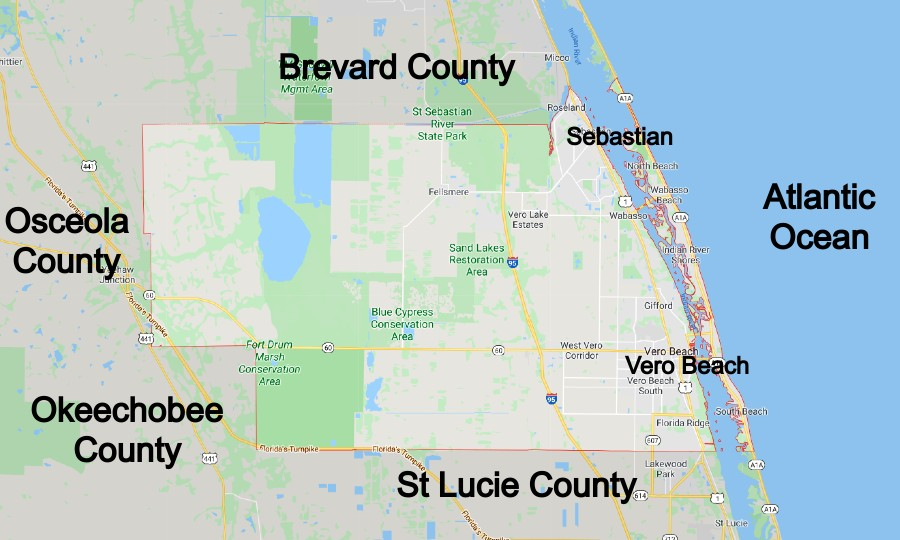 Indian River Community Map