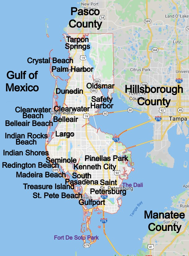 Pinellas County Community Map