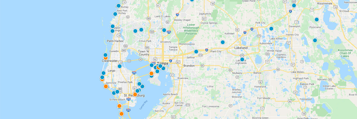 SW Florida Interactive Map Search