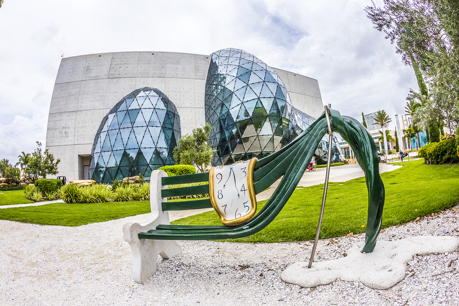 Visit the Dali Museum near Florida homes.