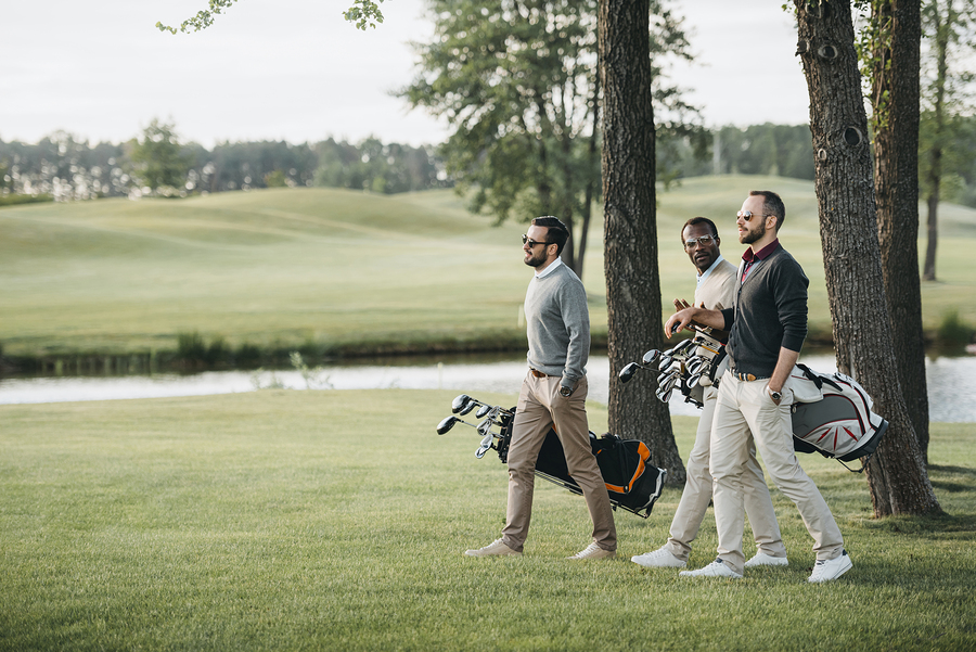 Play golf on West Babylon real estate.