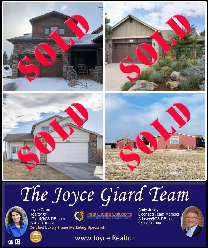 Fort Collins, Estes Park, Wellington, Real Estate, Horse Property Sold