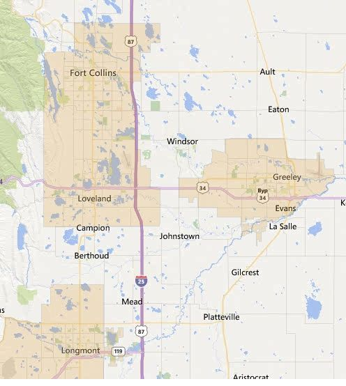 Financing In Northern Colorado Available Now - Usda financing map
