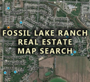 Fossil Lake Ranch Homes For Sale Map Search