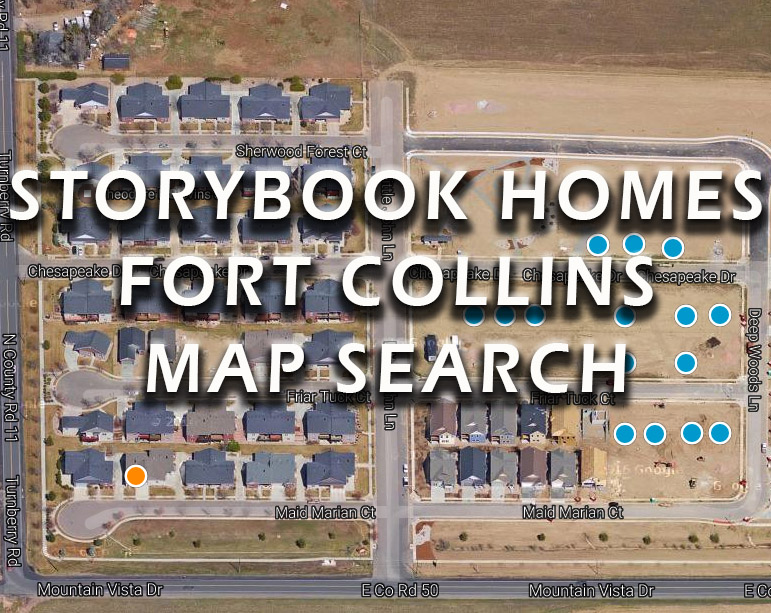 StoryBook Homes For Sale Map Search
