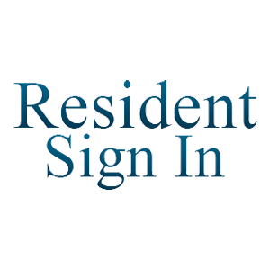 Resident Sign In