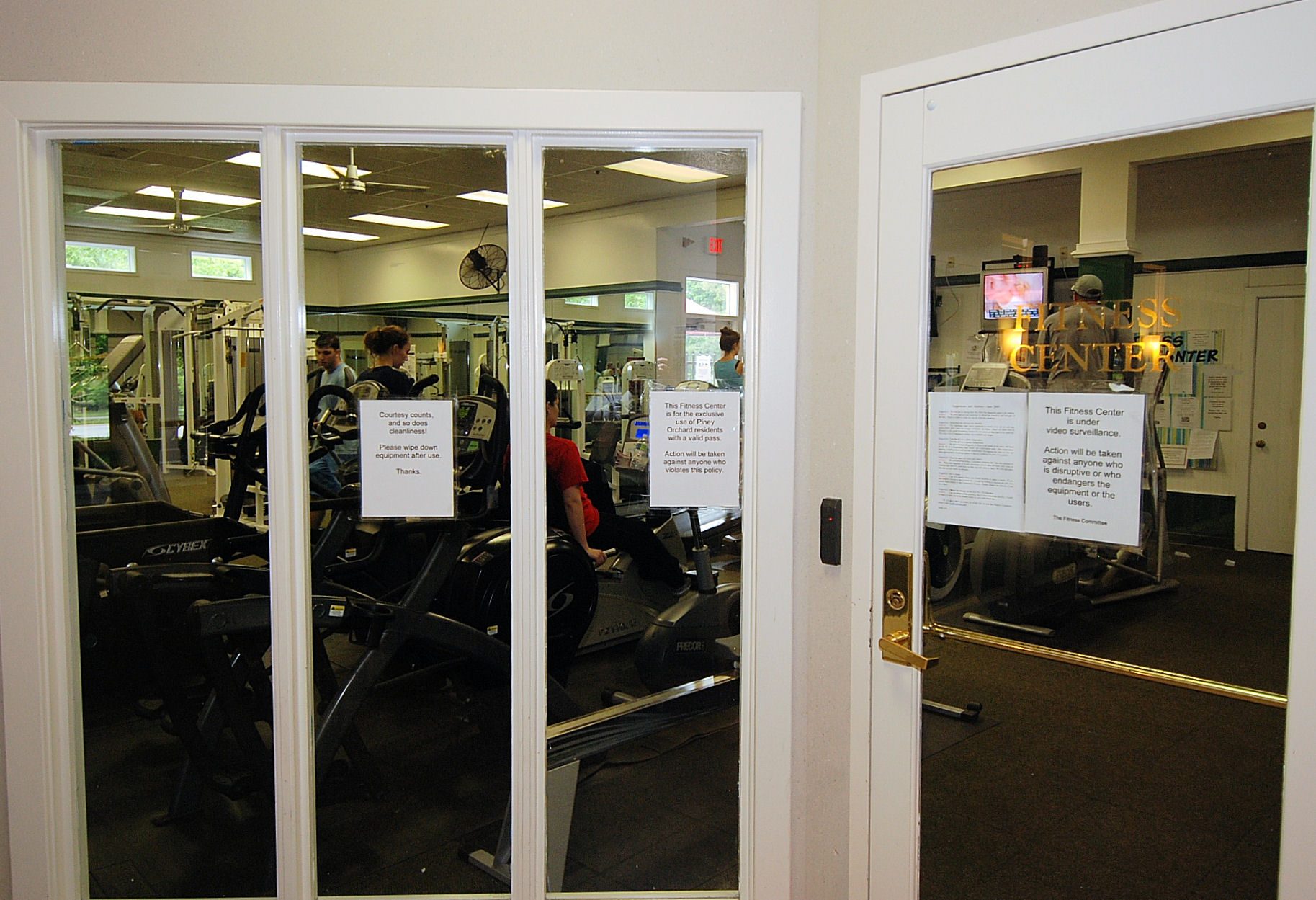 PIney Orchard fitness center