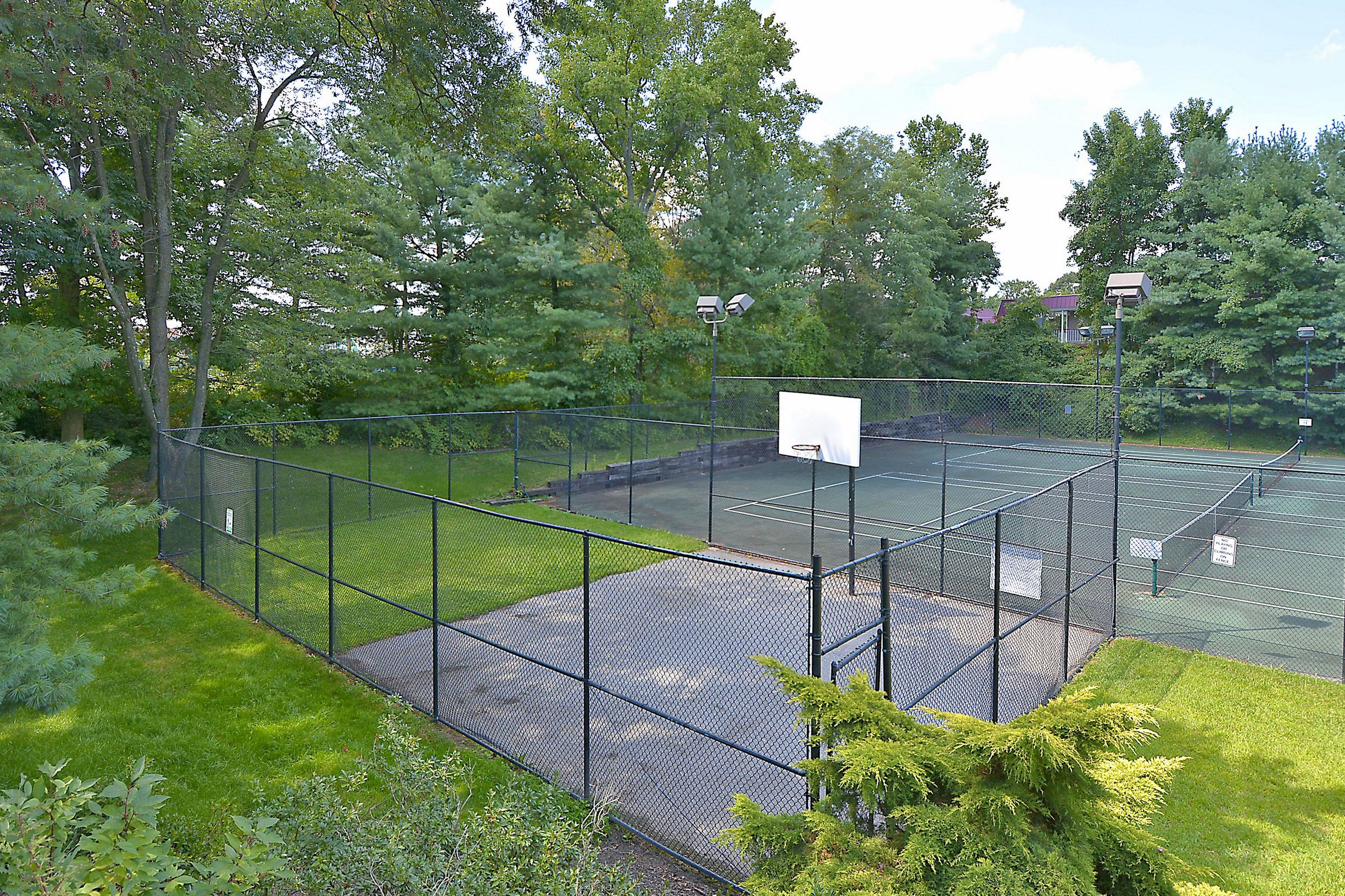 Seven oaks basketball courts