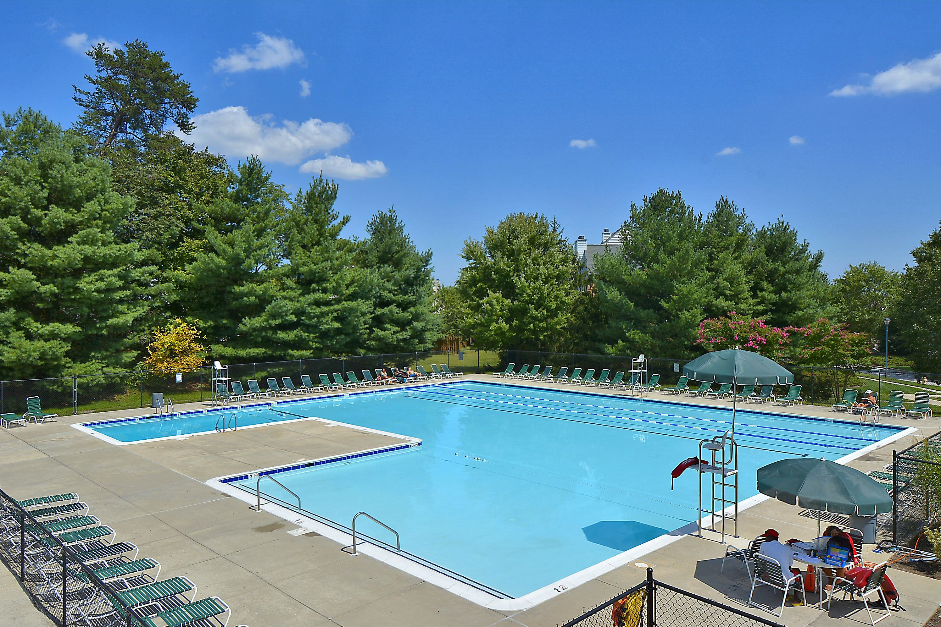 Seven Oaks community pool