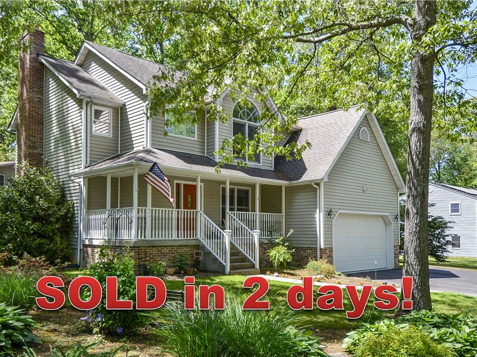 Just sold home in Crownsville MD