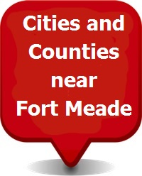 Fort Meade relocation Cities and Counties near Fort Meade