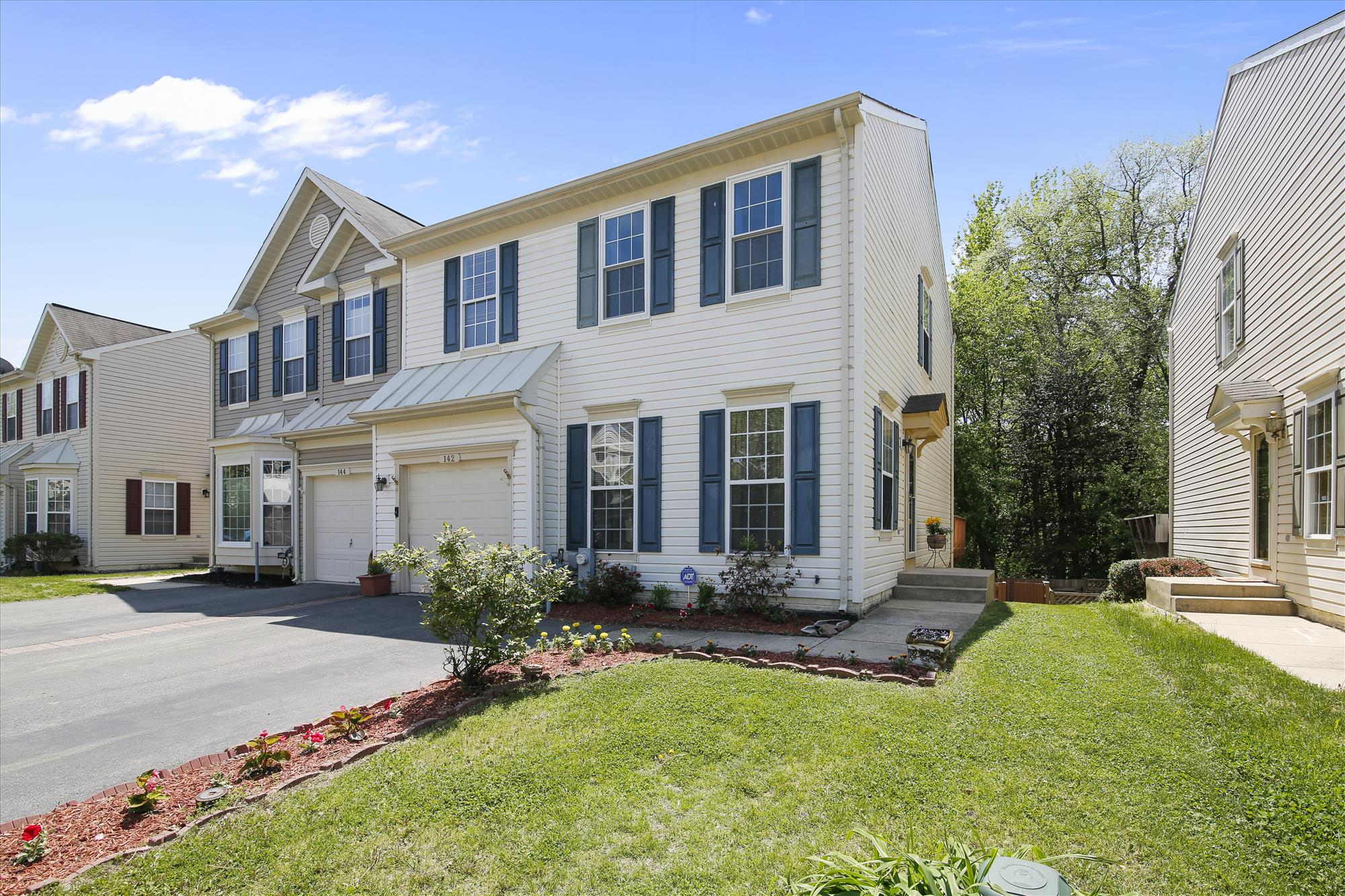 Home for sale near Fort Meade in the Seven Oaks subdivision of Odenton