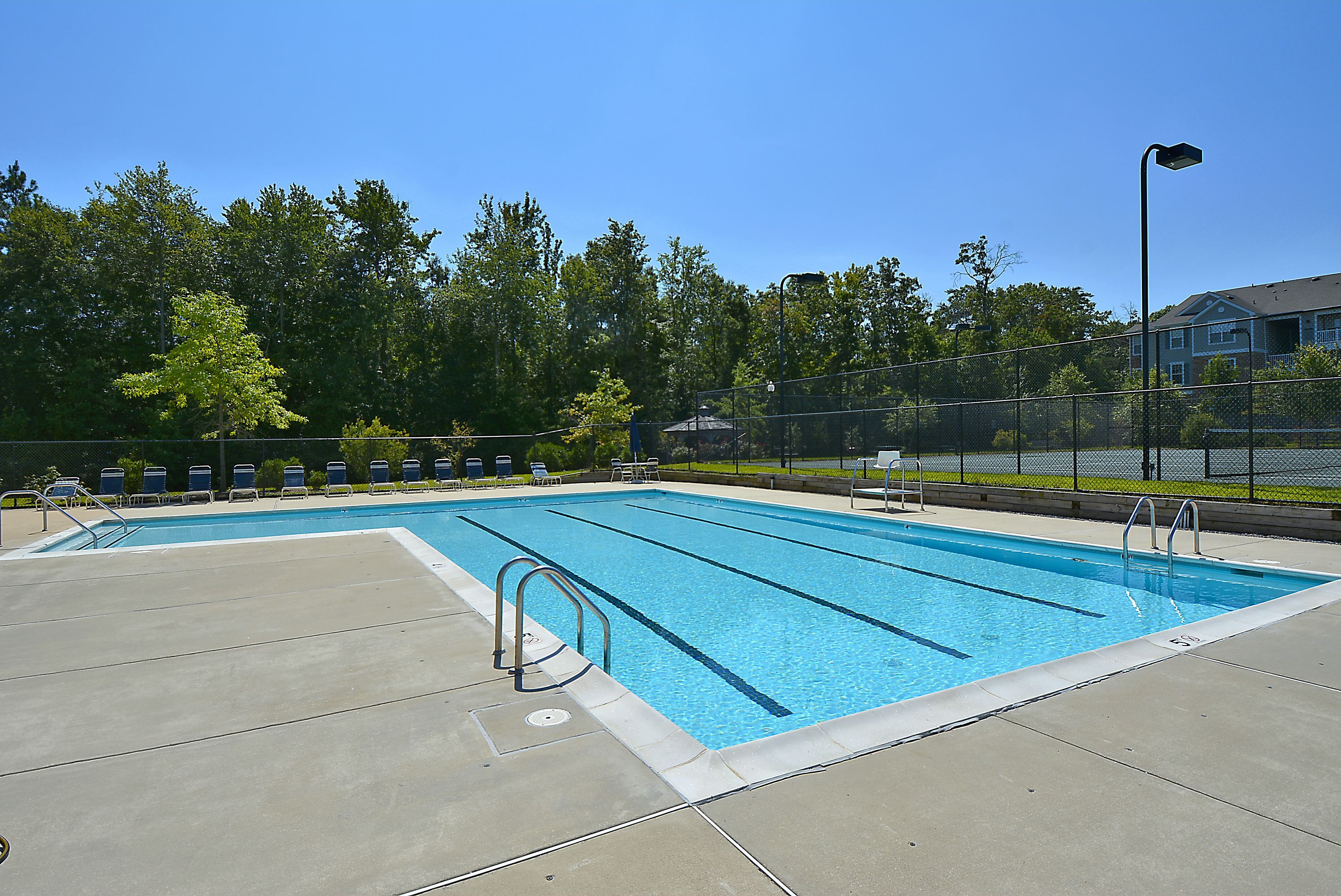 Seven Oaks community pool