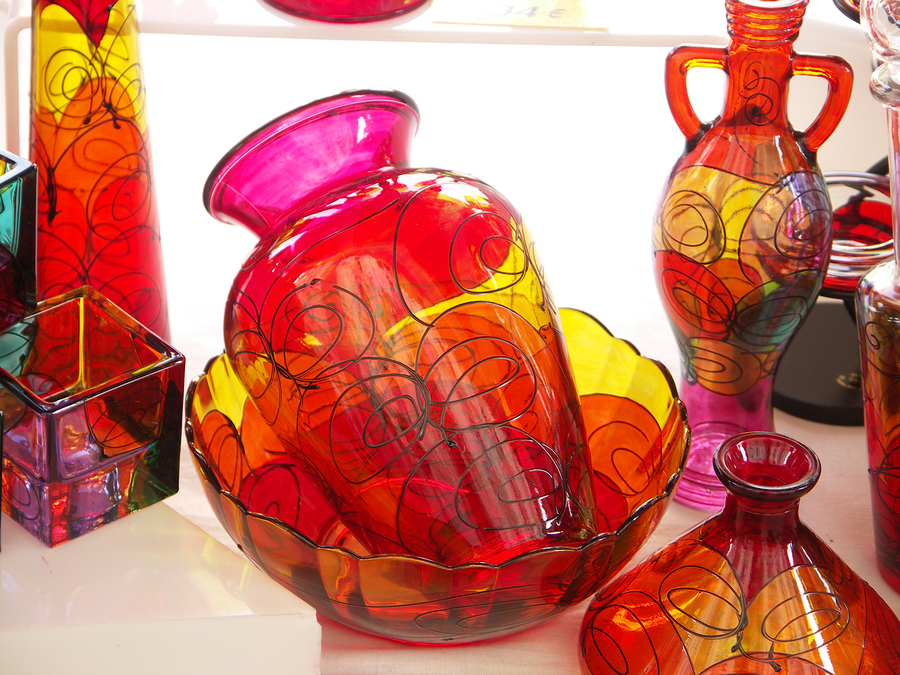 Neenah real estate owners visit the glass museum.