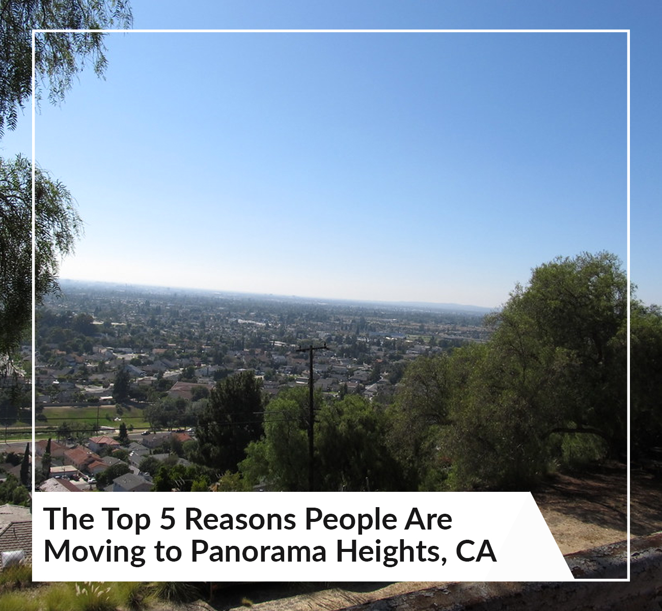 Moving To Panorama Heights