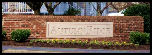 Autumn Ridge Real Estate Entrance Image