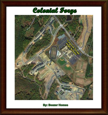Colonial Forge Community Aerial