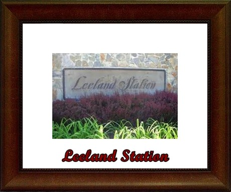 Leeland Station Fredericksburg Community Sign