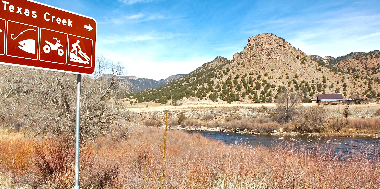 Texas Creek, Colorado
