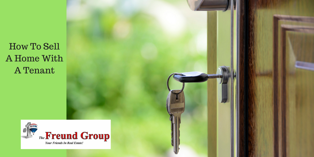 how to sell rental property with tenants