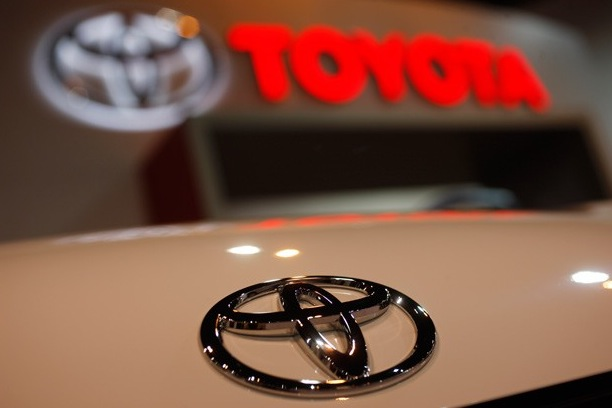 Toyota Hood Emblem on Frisco Relocation