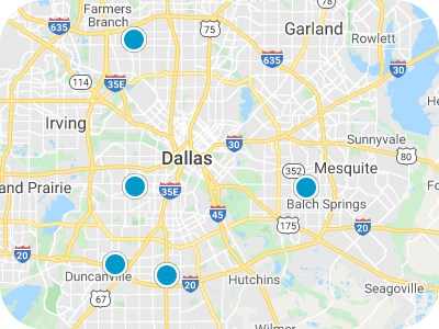 Dallas Real Estate Map Search