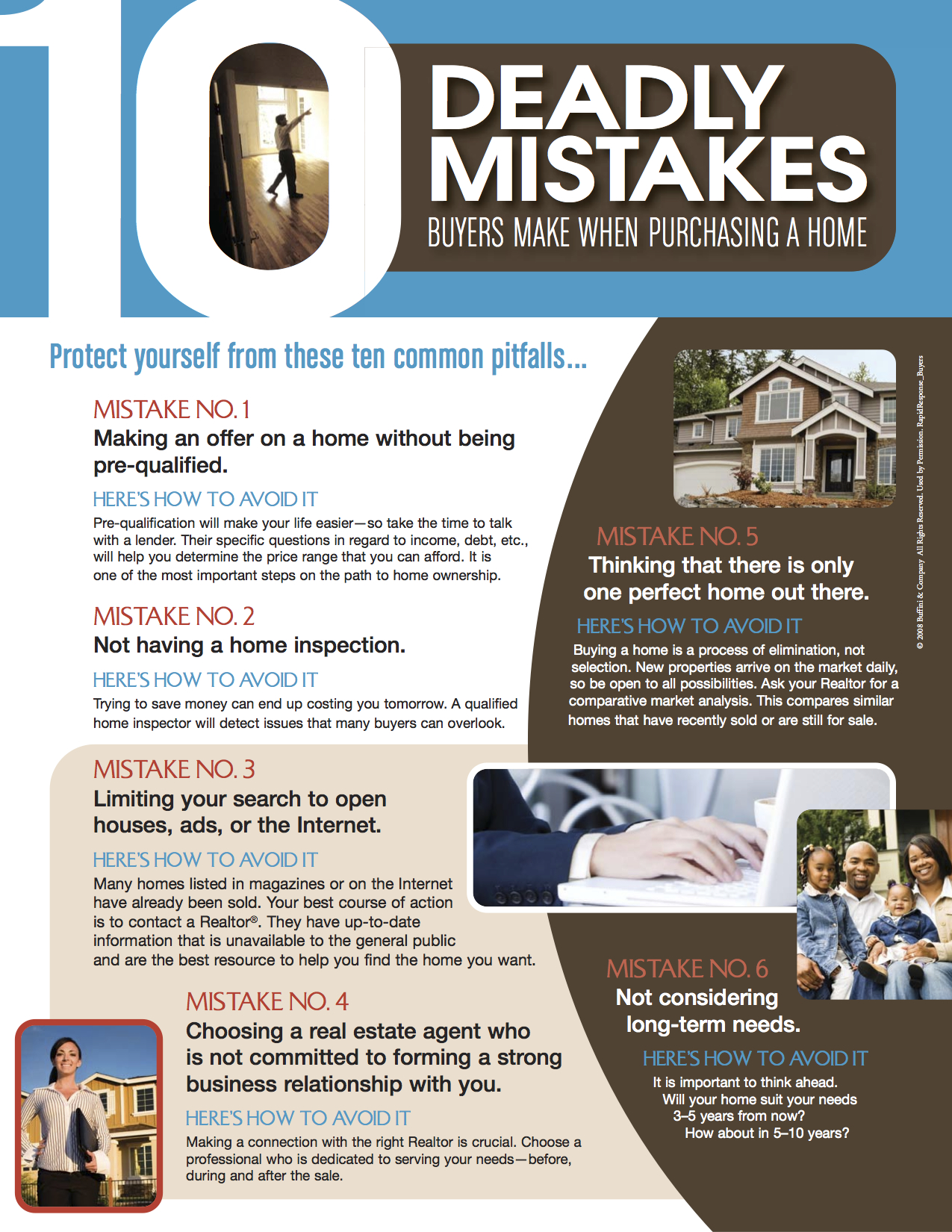 10 Mistakes Buyers Make