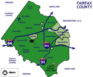 fairfax countyproperty search map