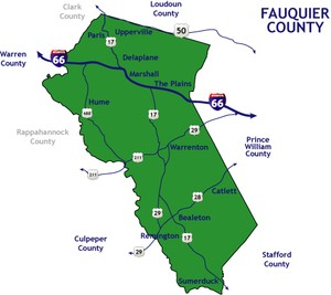 Fauquier County Real Estate Online Map