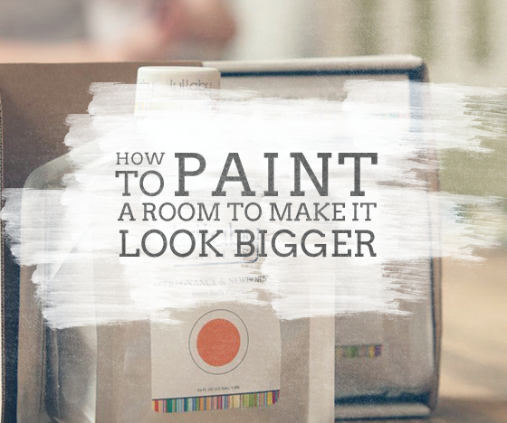 Make your room look bigger with these paint tricks - Make a small space look bigger ideas ...