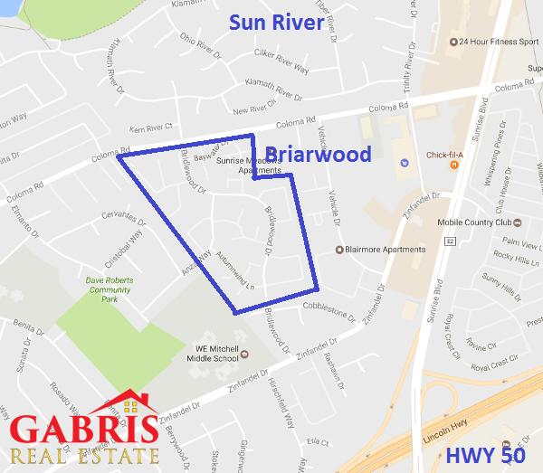 Briarwood in Rancho Cordova - Gabris Real Estate