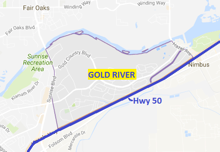 Location of Gold River