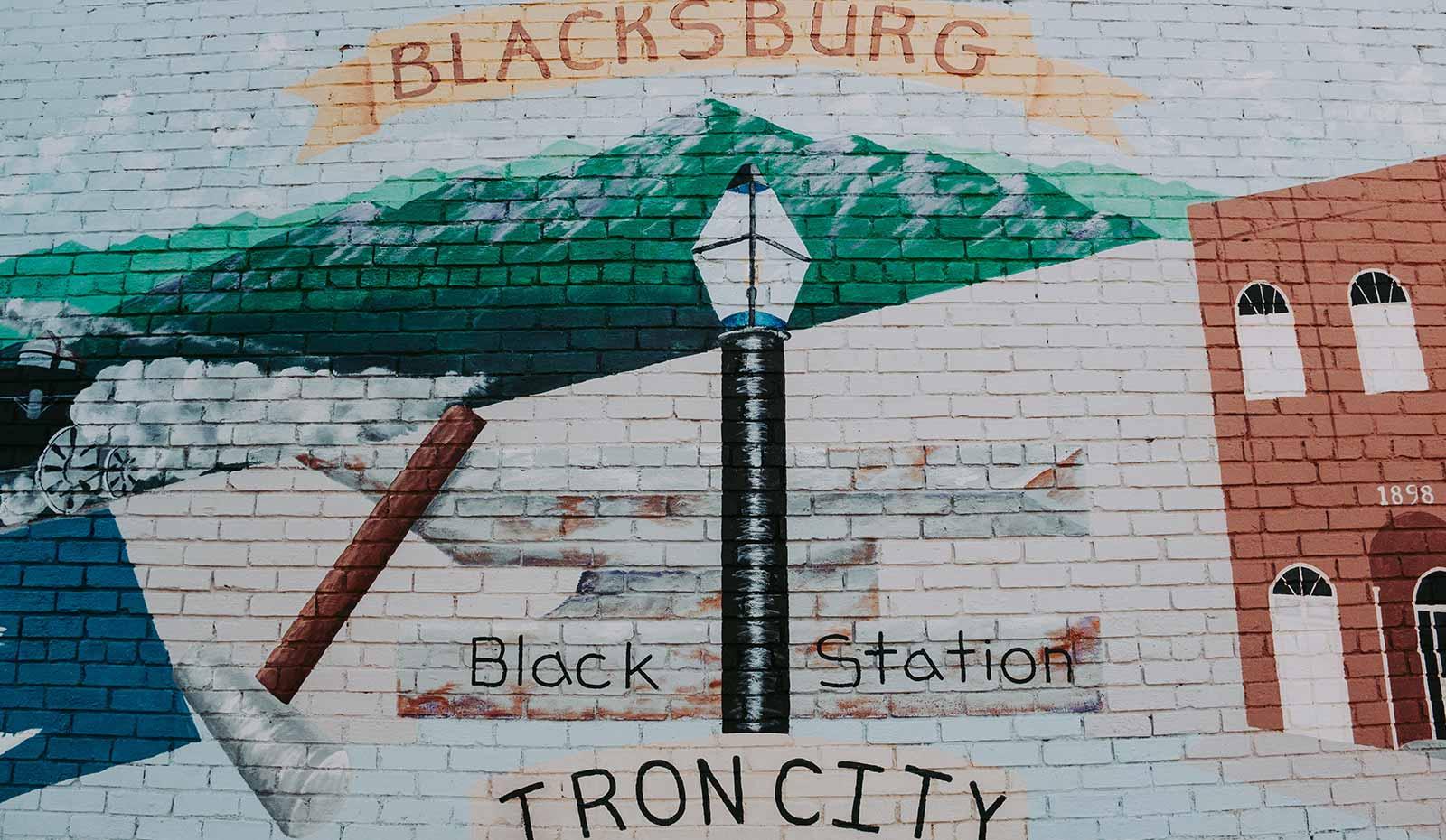 blacksbrug mural