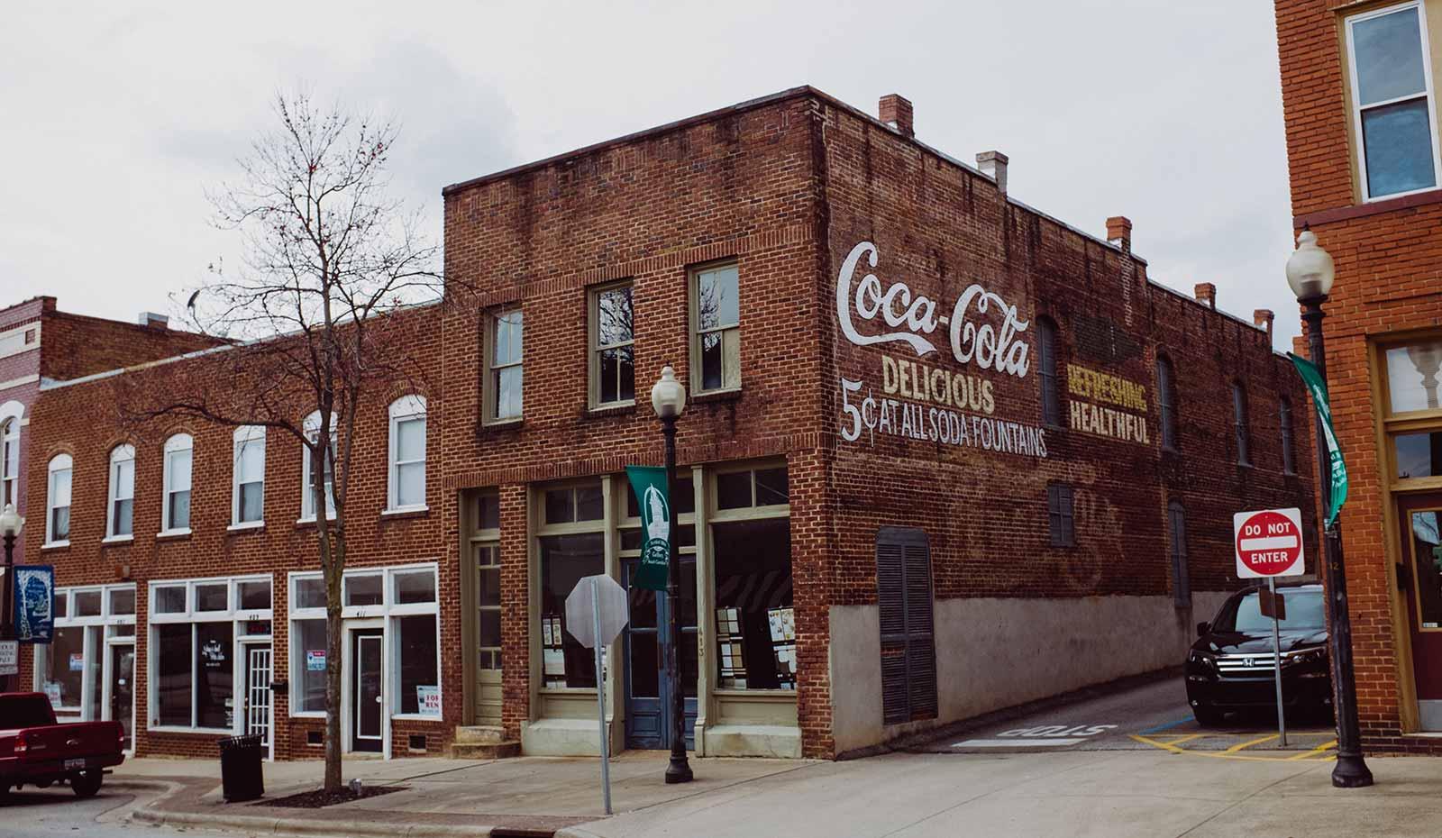 gaffney coca cola building