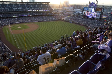 Colorado Rockies at Coors Field, Denver, Colorado