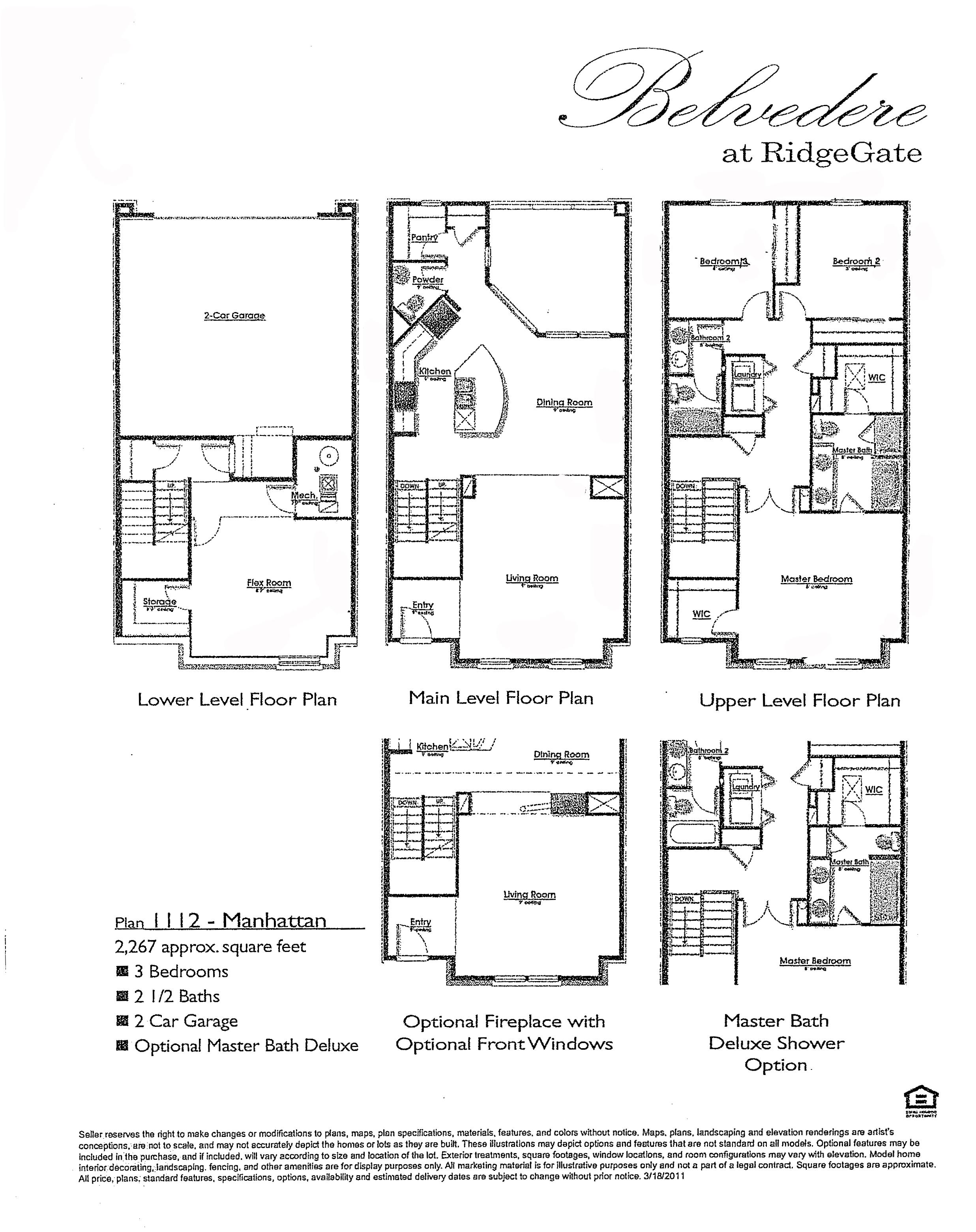Plan 1112 Manhattan at Belvedere in RidgeGate of Lone Tree CO