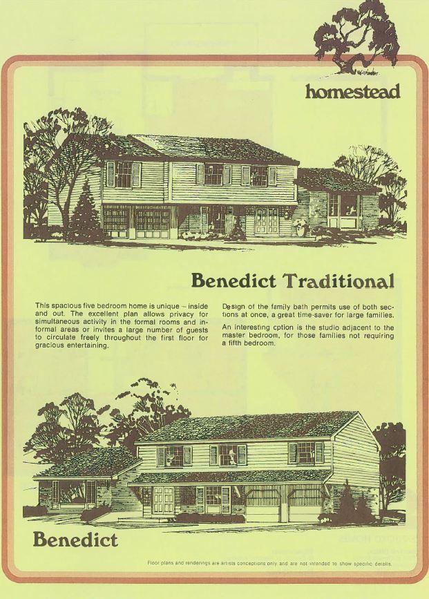 Benedict Elevations